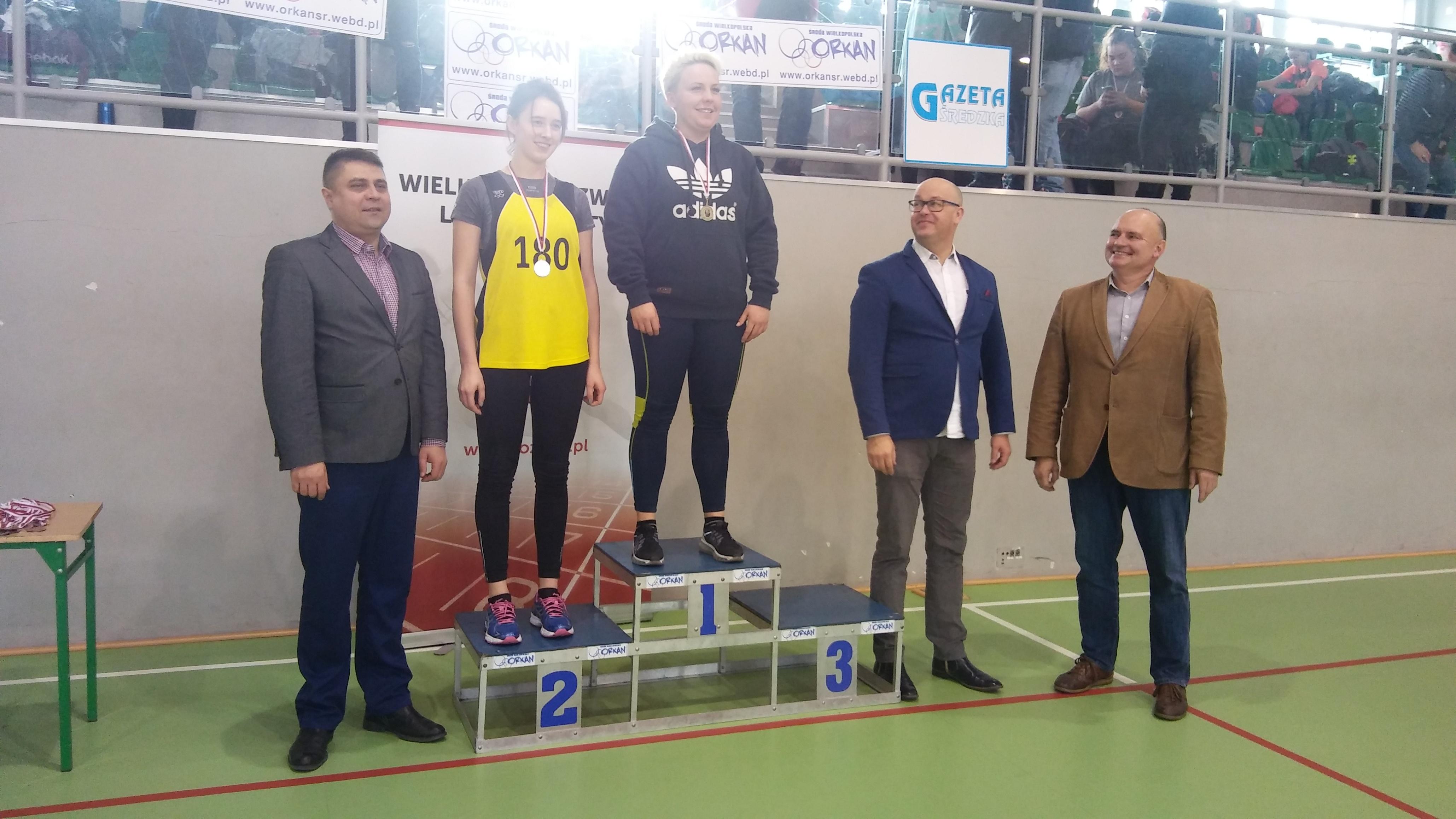 U20: 1m. Jakubowska Pamela 2m. Kuczyńska Justyna