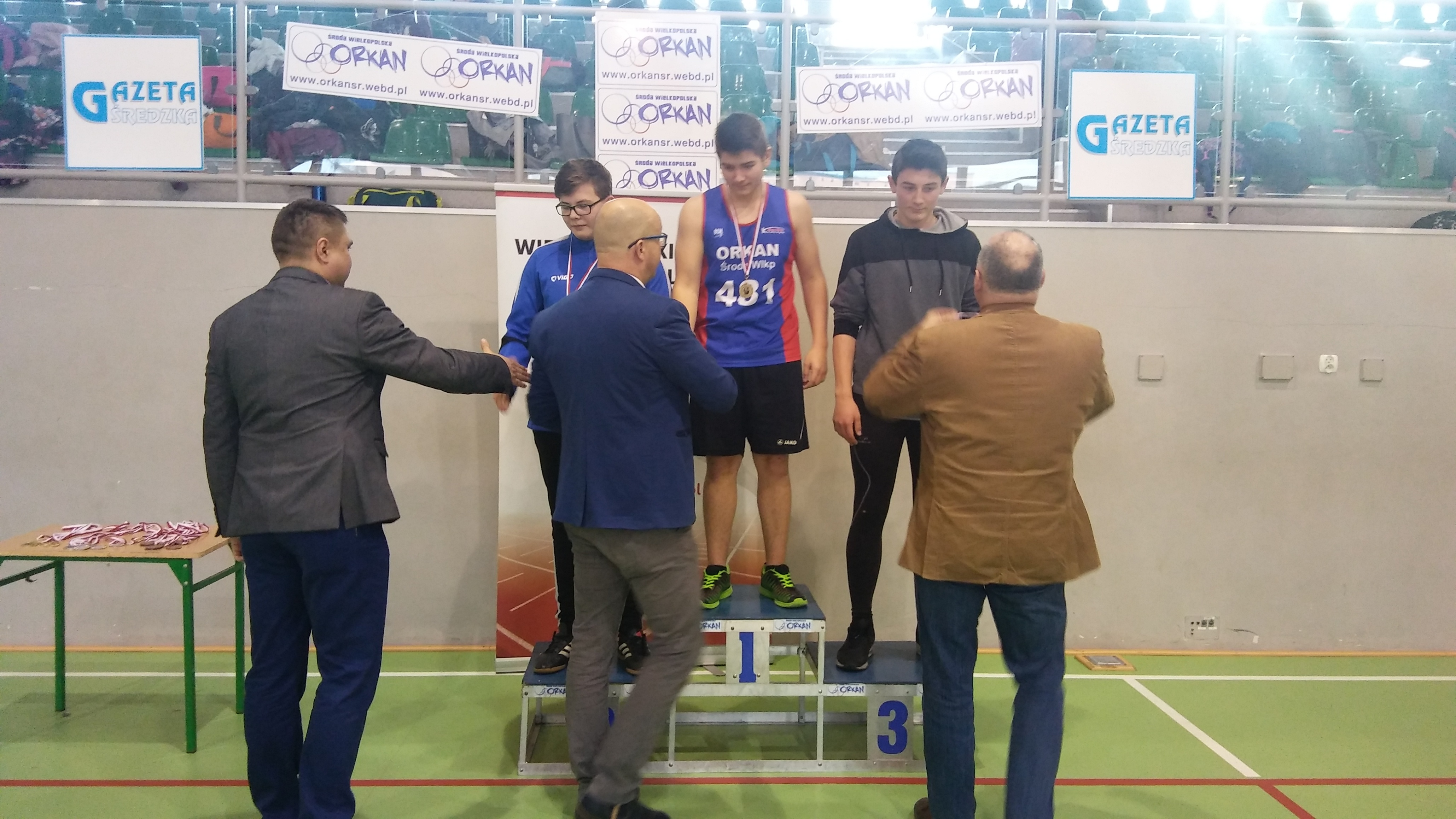 U16: 1m. Grześkowiak Tomasz 2m. Szilistowski Sebastian 3m. Ziółkowski Adam
