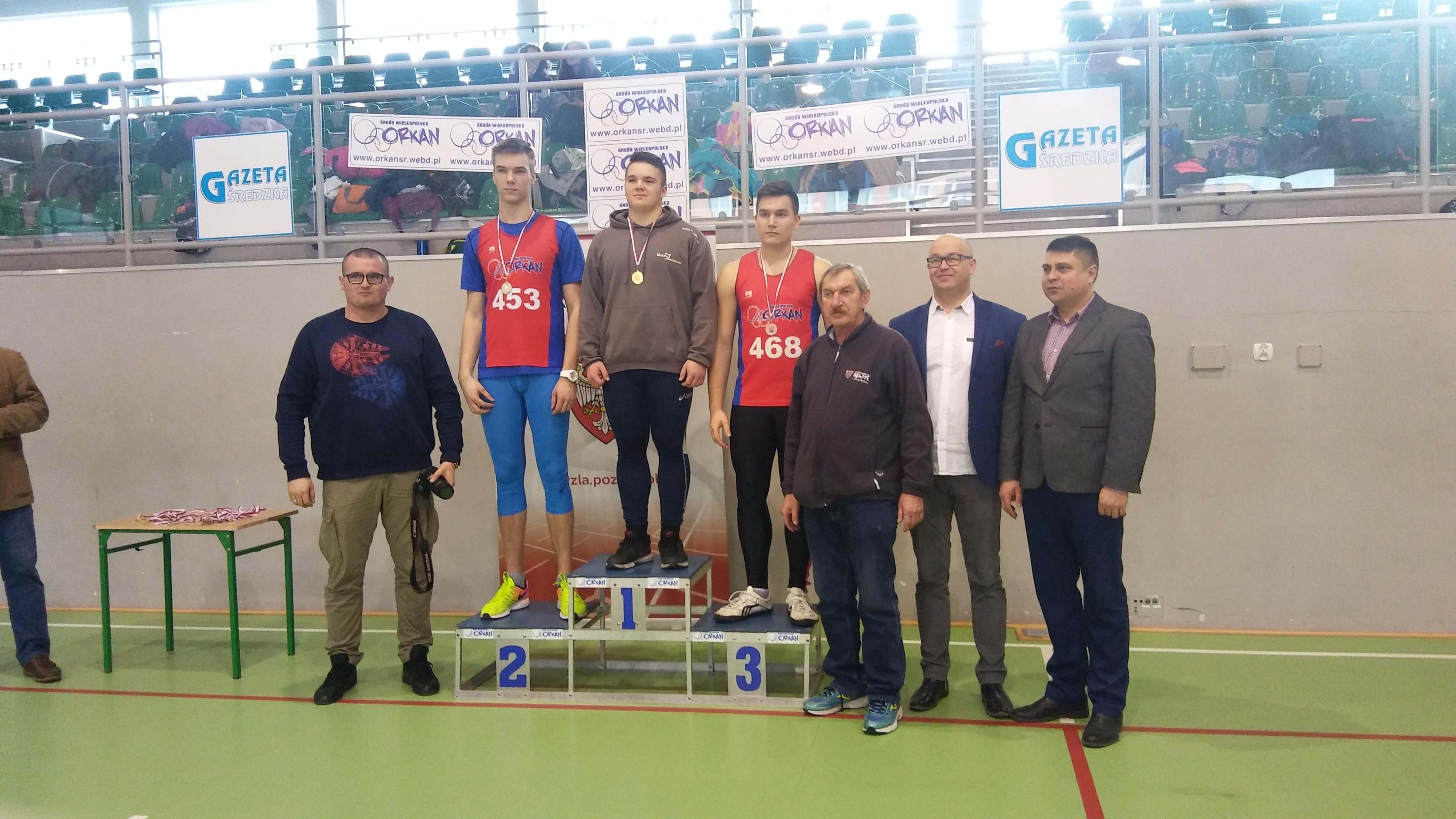 U18: 1m. Goździewicz Piotr 2m. Marok Wojciech 3m. Wlazły Jakub